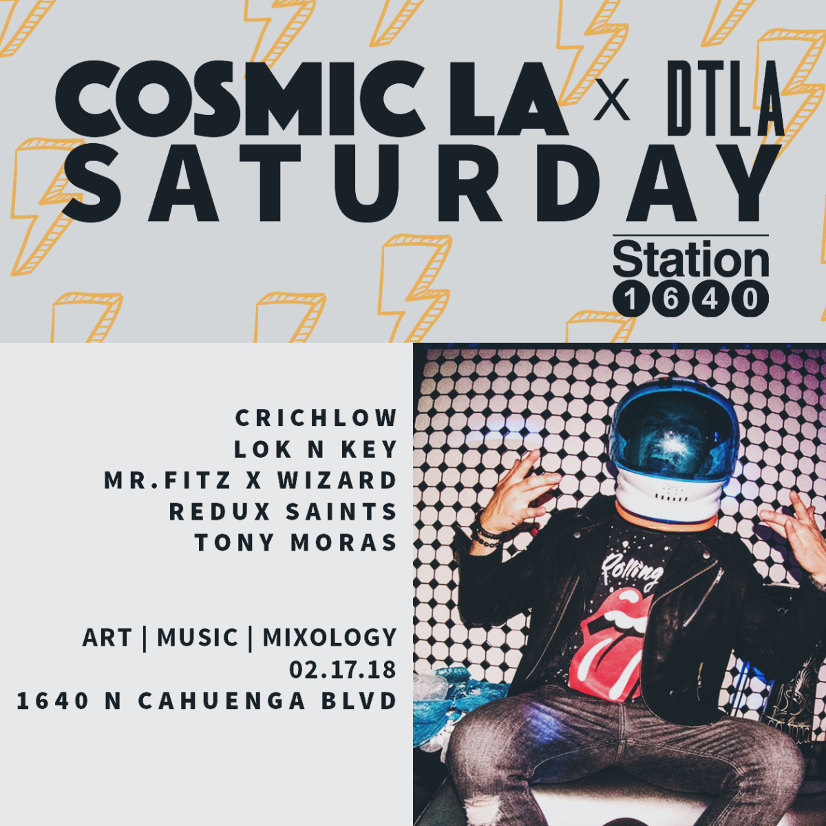 COSMIC LA X DEEP TECH  2.17.18