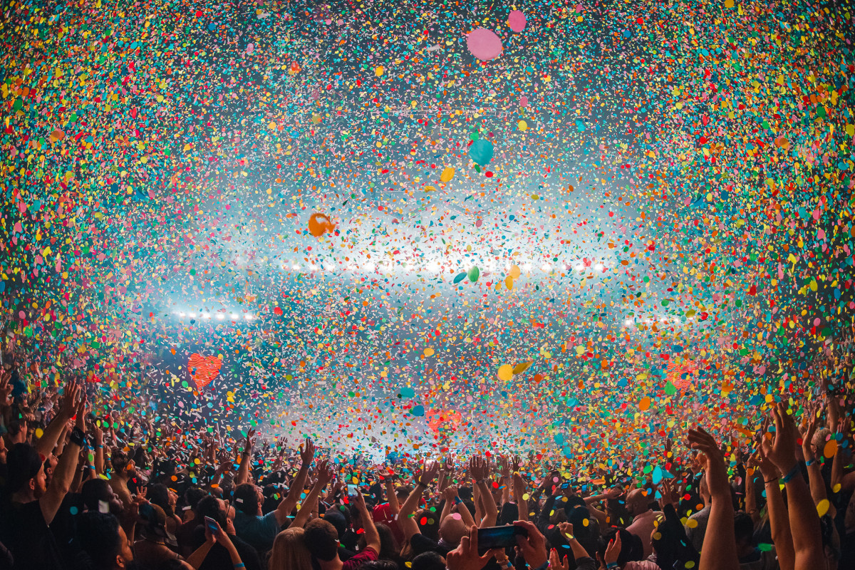 Above & Beyond Barclays Center Confetti