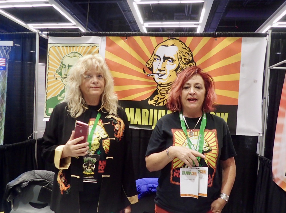 CannaCon Wendy Robbins and Karen Paull
