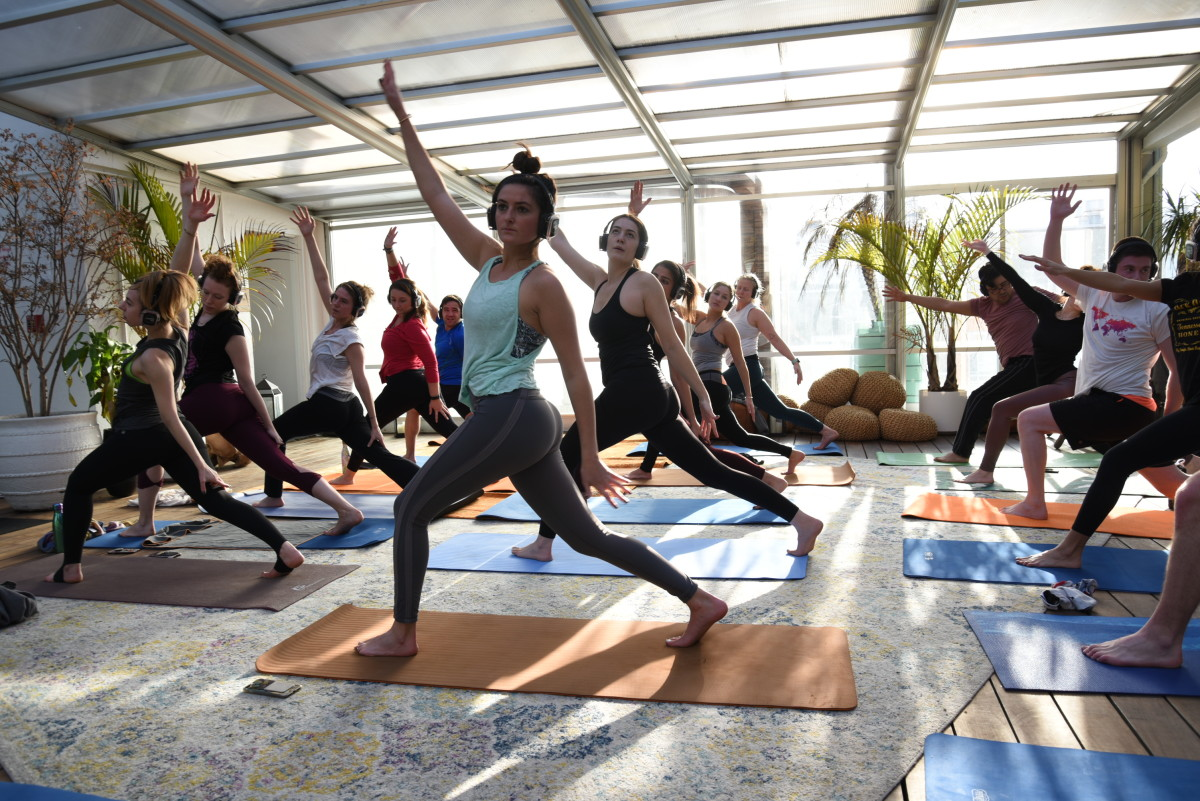Elements Lakewood Festival 2018 Yoga