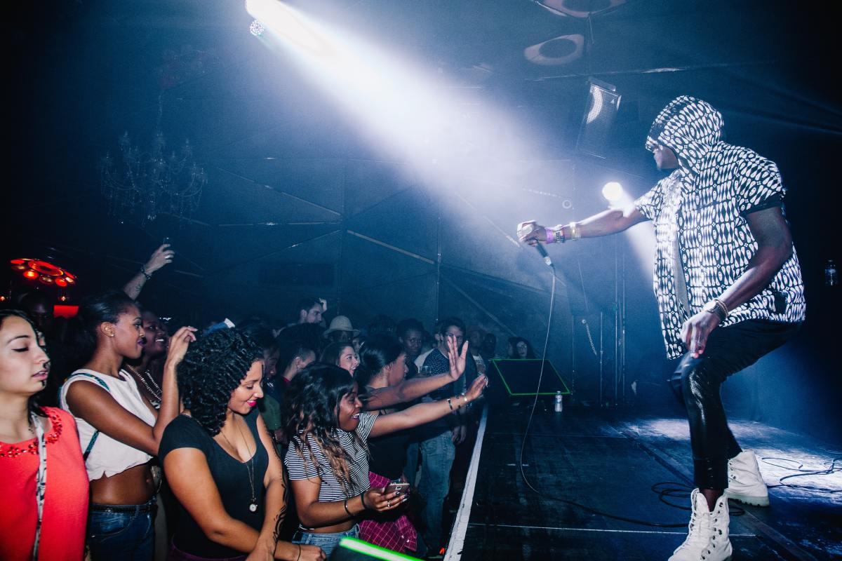 Festival Crowd Rapper Concert