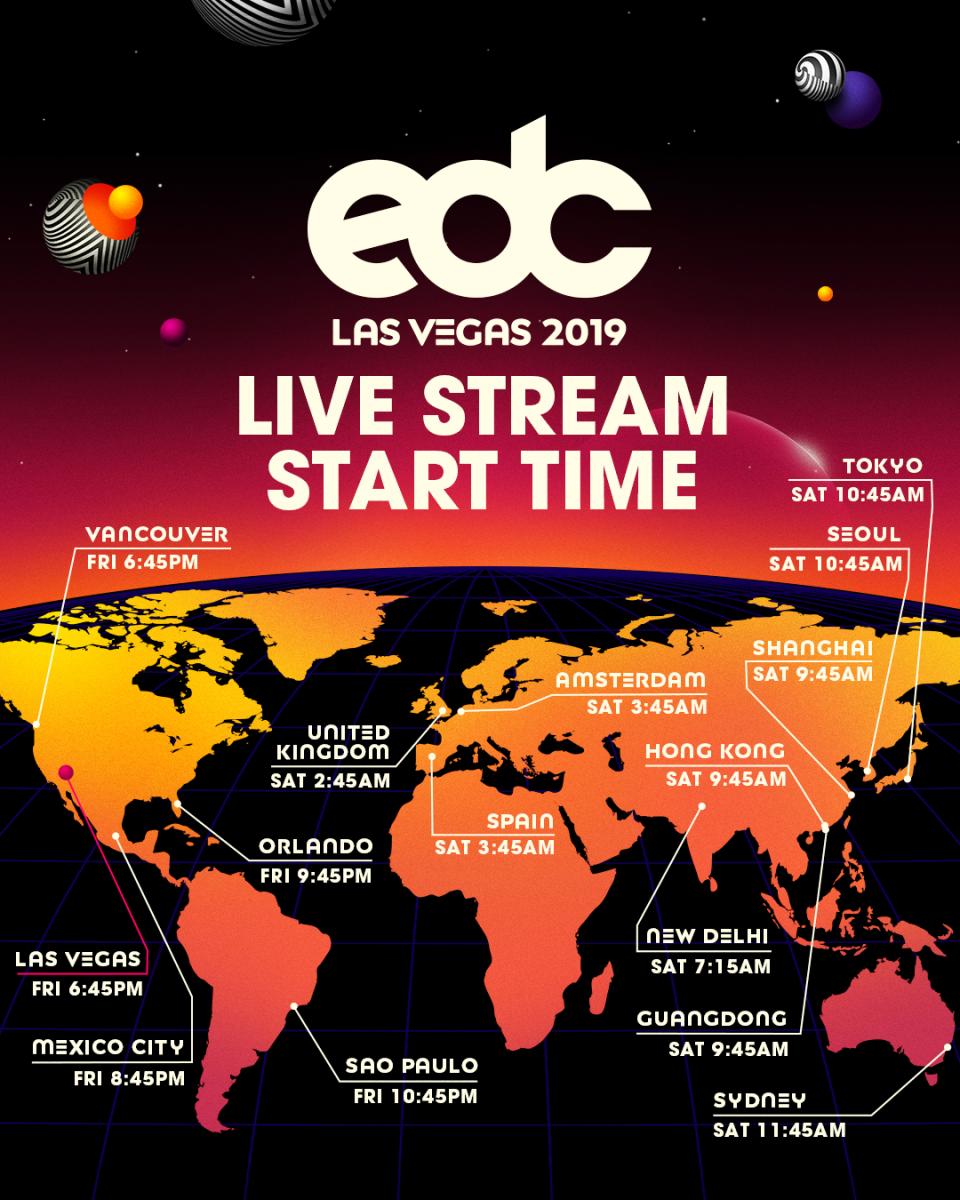 EDC Last Vegas 2019 Live Stream