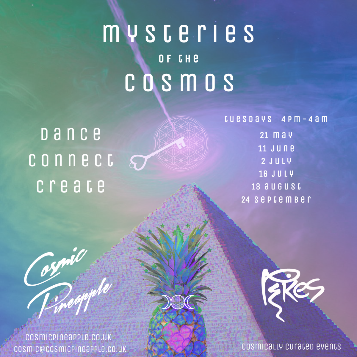 Cosmic Pineapple 2019 Schedule