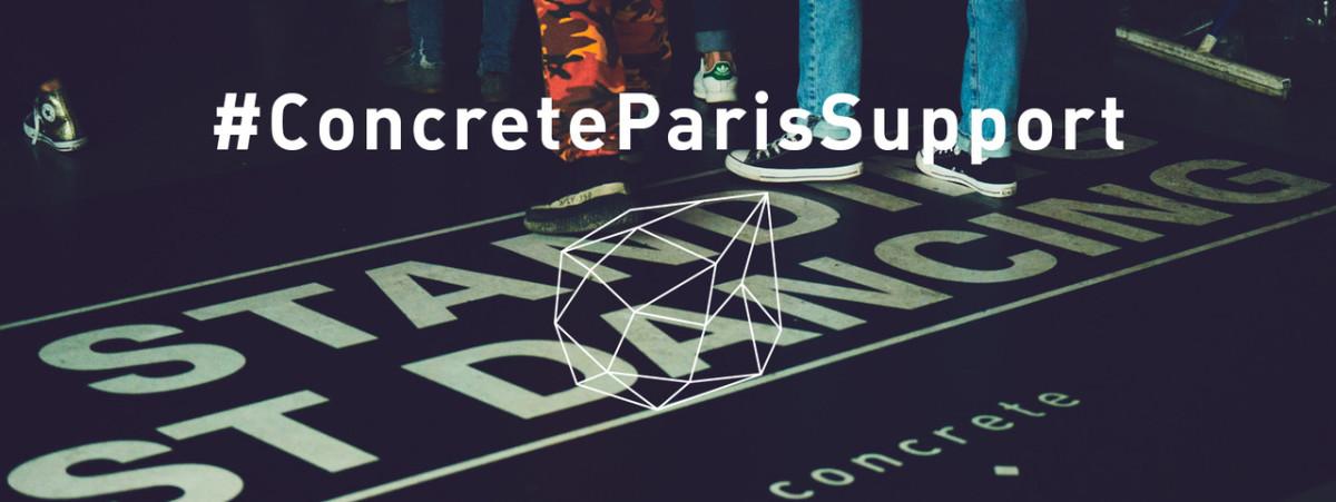 Concrete Paris Support Petition