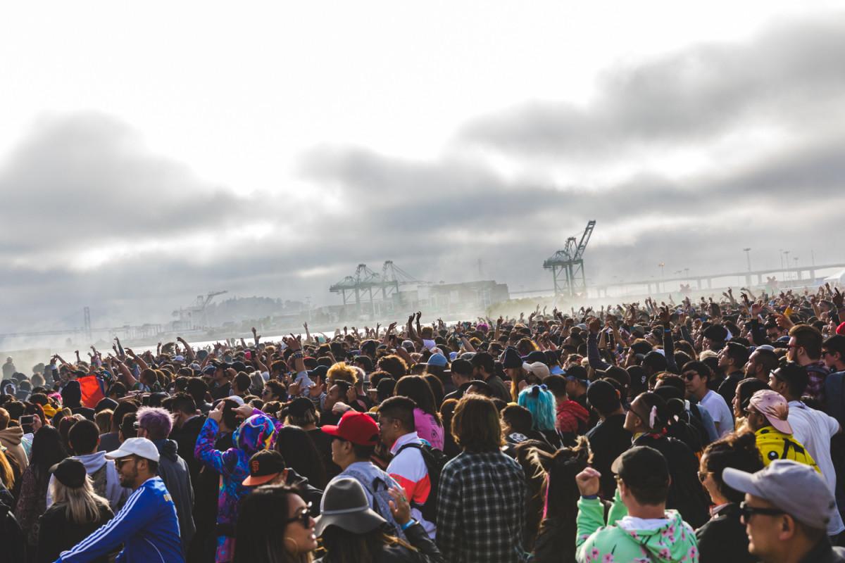 Second Sky Festival 2019 Crowd
