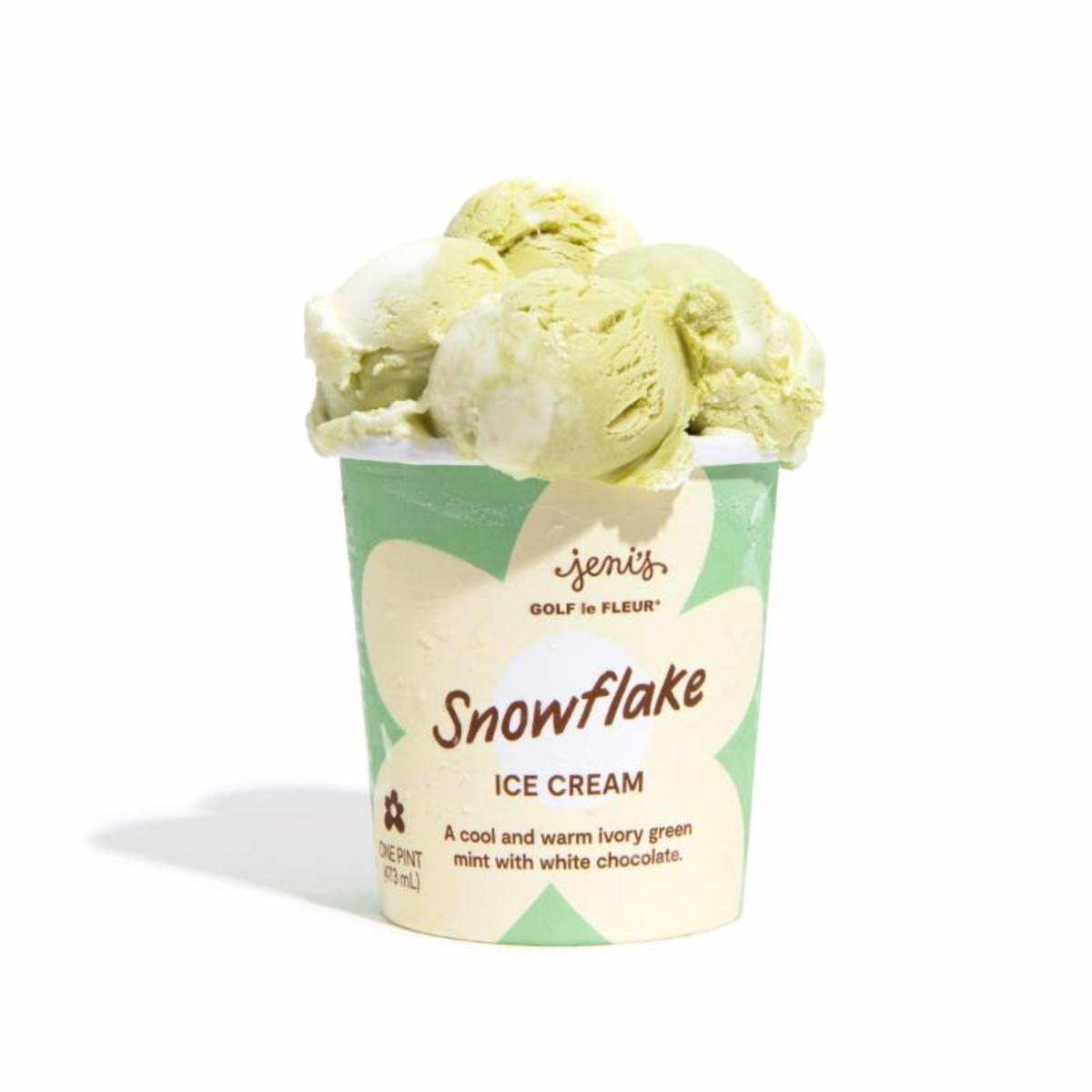 Tyler, The Creator Jeni's Ice Cream Snowflake