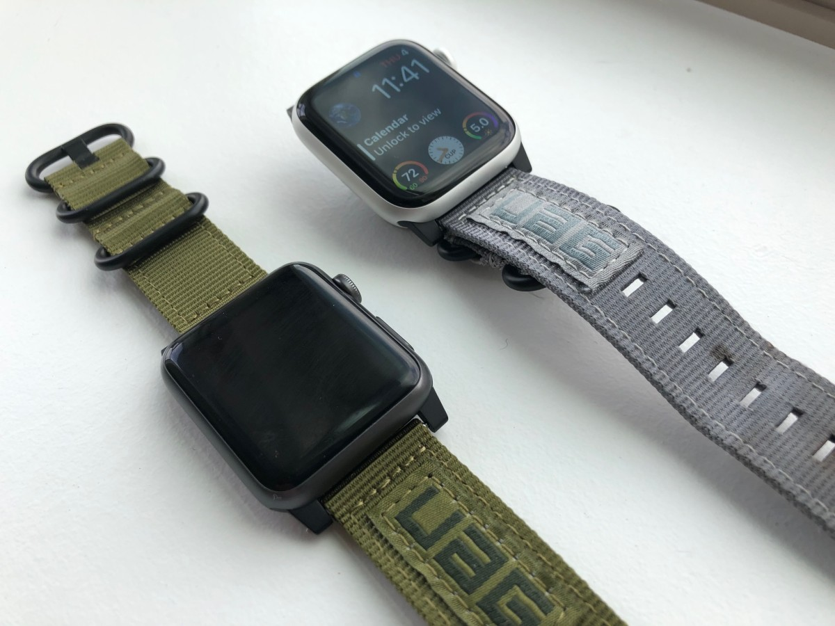 UAG Nato Straps In Grey and Green