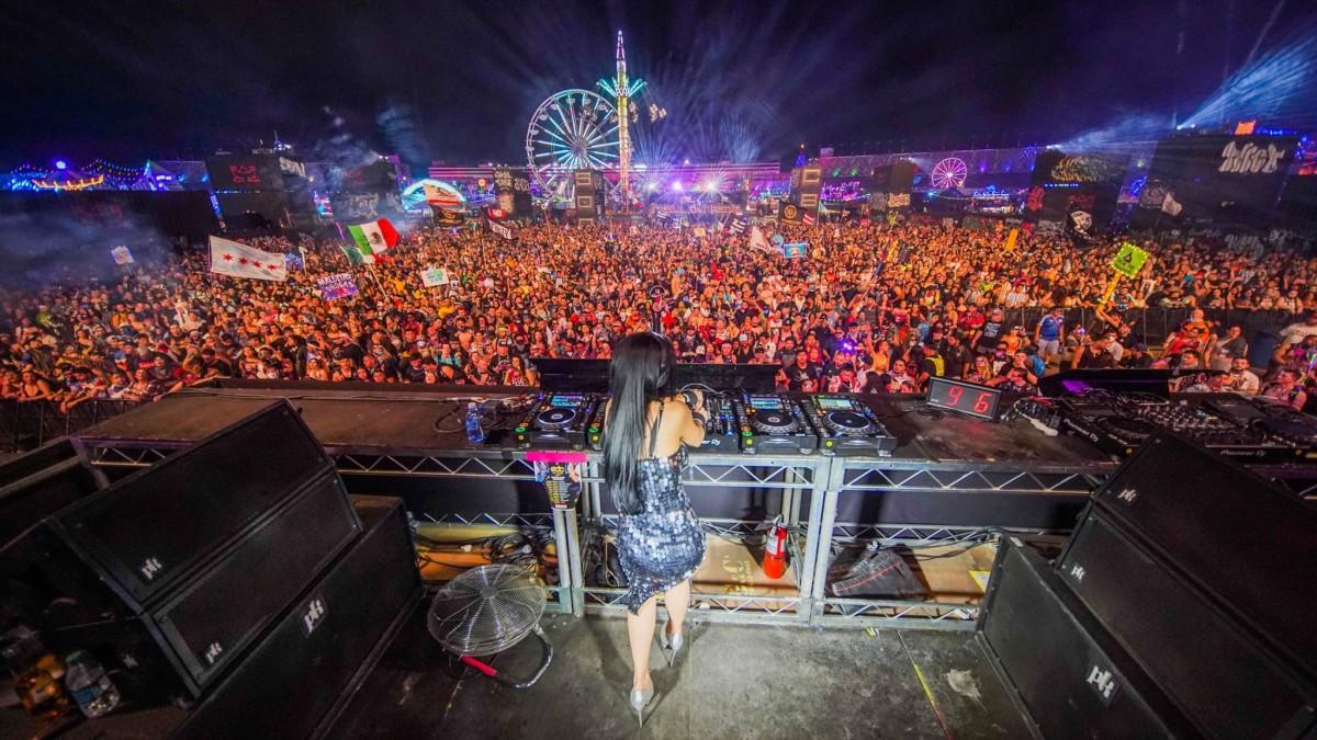 Lady Faith crushes it at EDC Las Vegas 2019