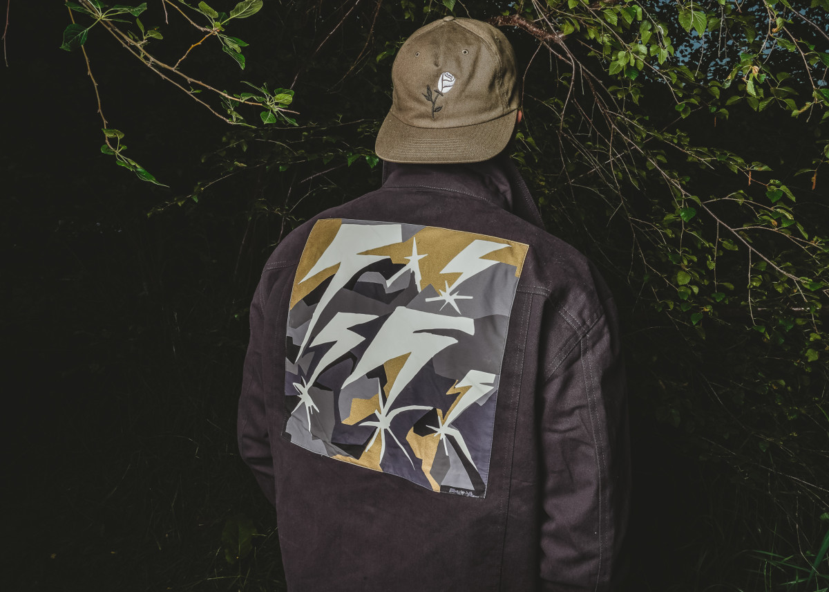 Cam wears Element x Bad Brains Jacket and Hat by Chrome