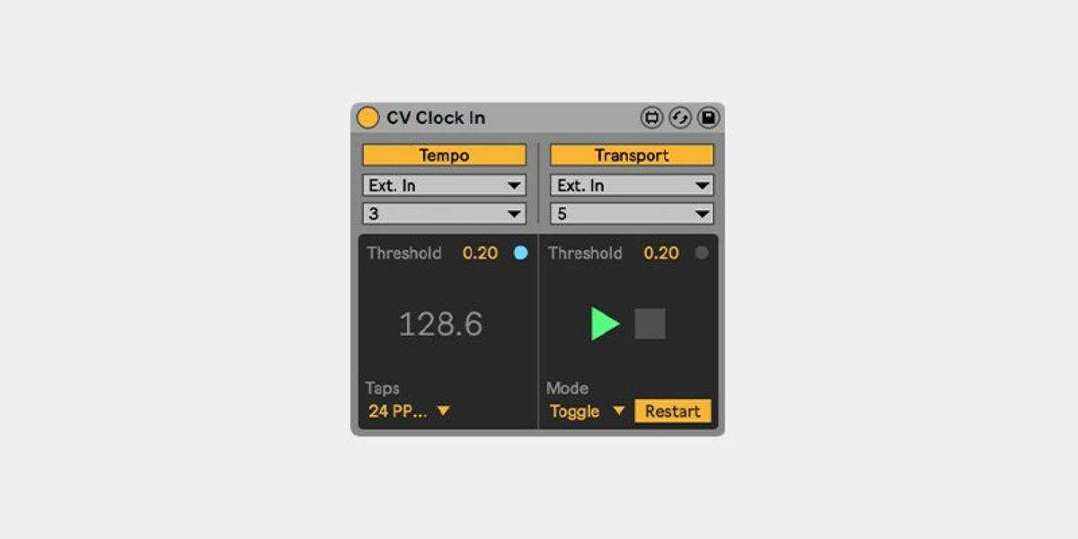 cv-clock in