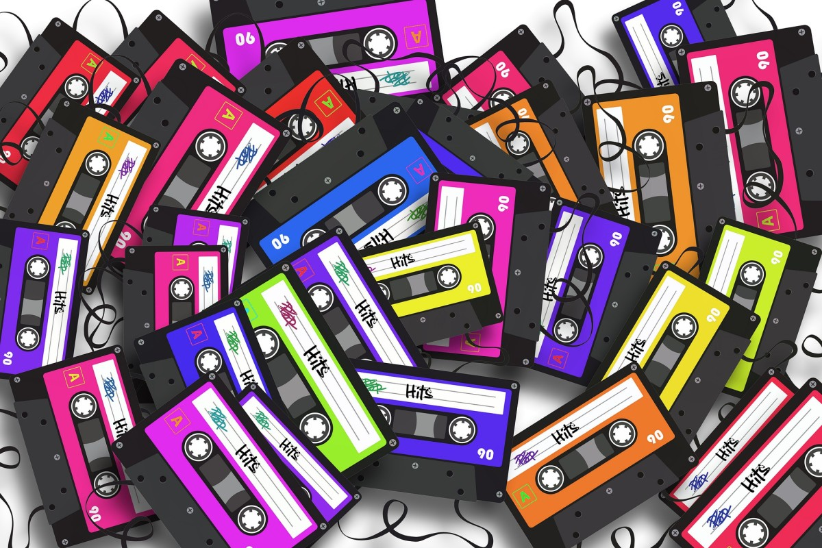 cassettes sold at Discogs marketplace