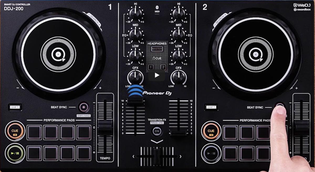 Pioneer DJ DDJ-200 Controller