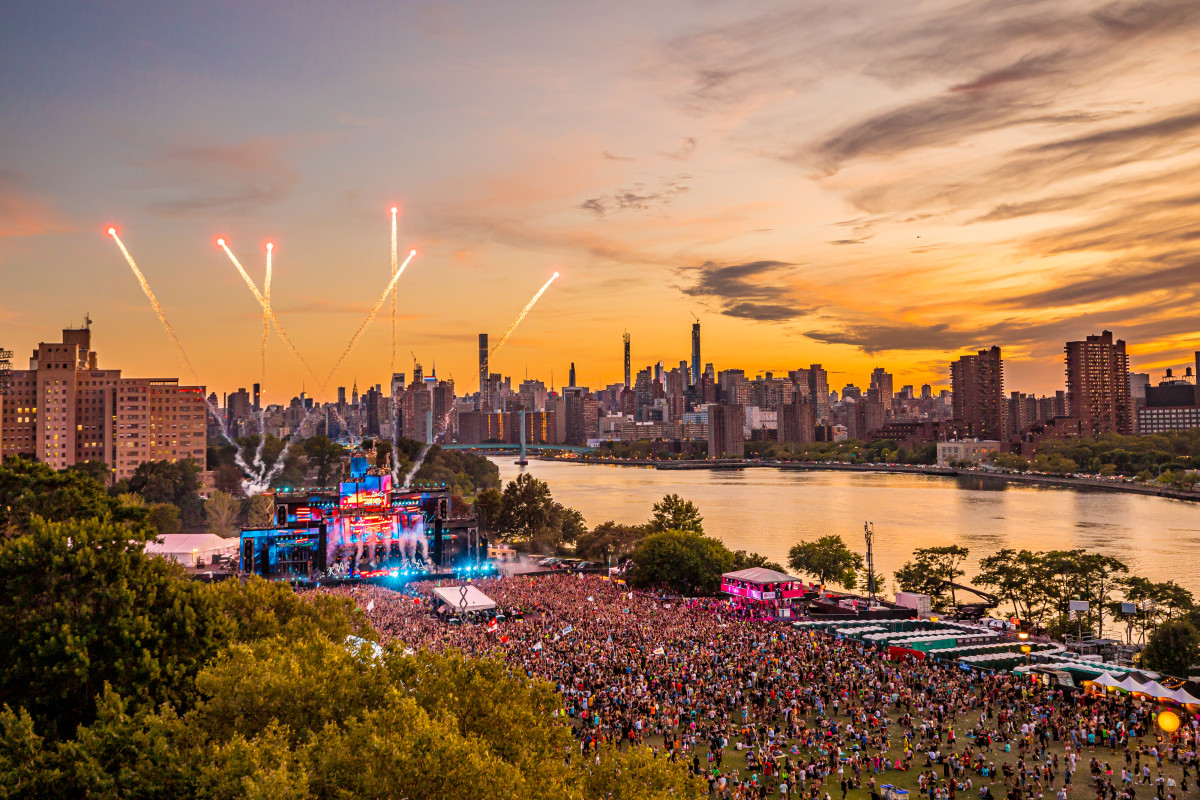 Electric Zoo 2019 Sunset Festival