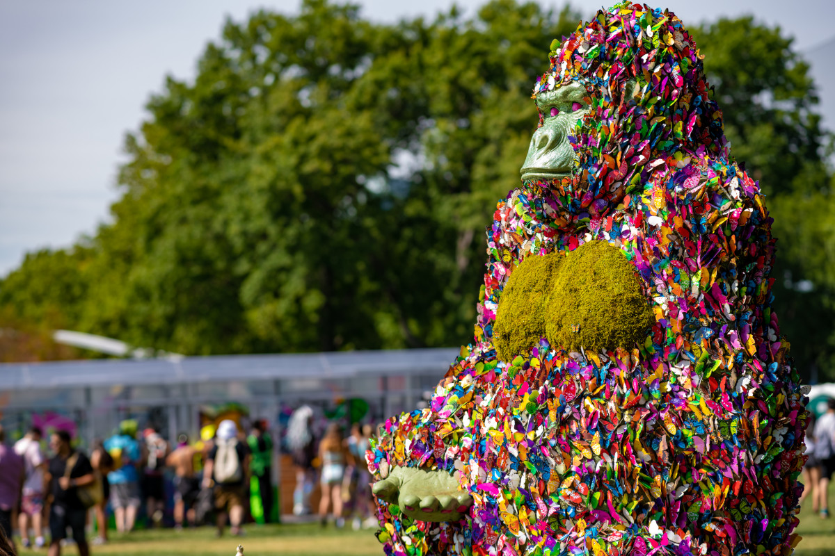 Electric Zoo 2019 Festival Gorilla