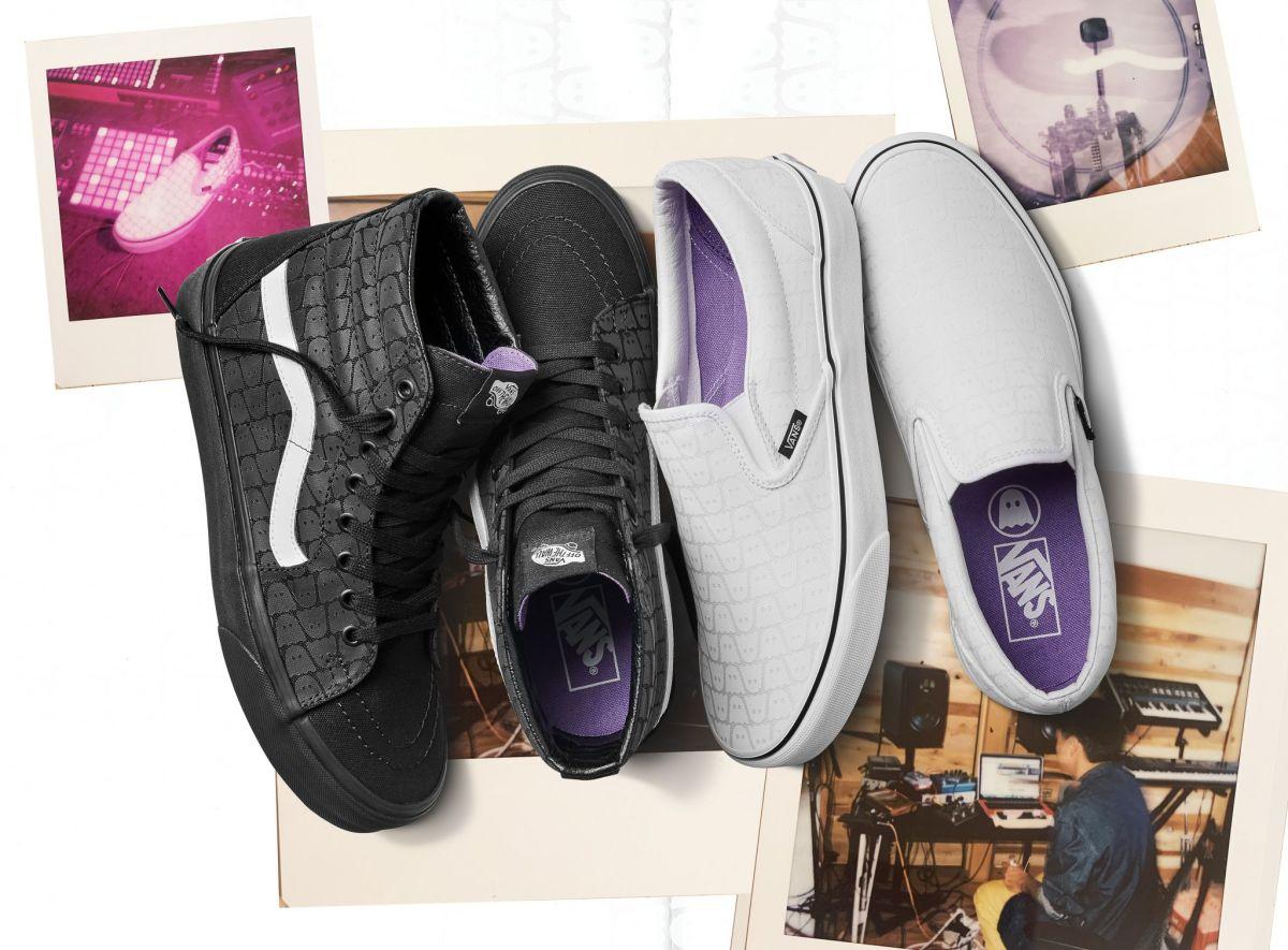 Ghostly Vans sneakers