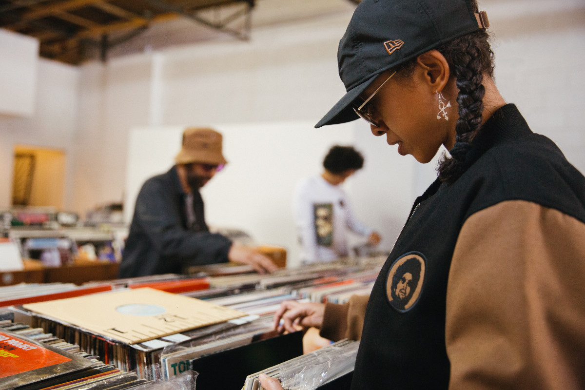 New Era Moodymann Hat Vinyl Record Store