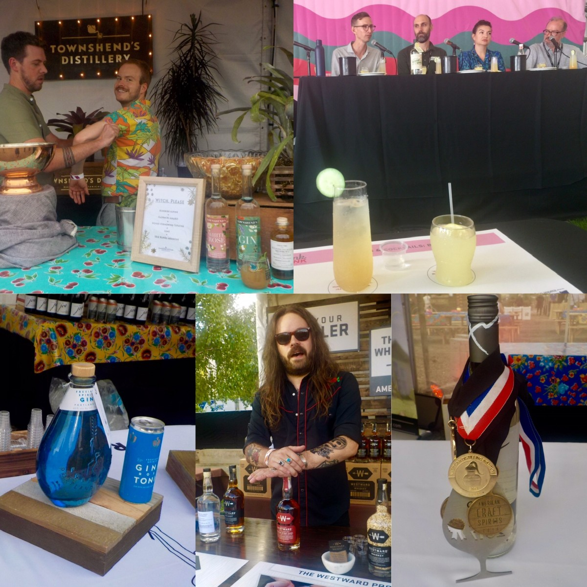"Feast Portland: Townshend's Distillery, Drink Tank: ""Cannabis & Cocktails: Best Buds,"" Freeland Spirits, Westward Whiskey, Aria Gin"