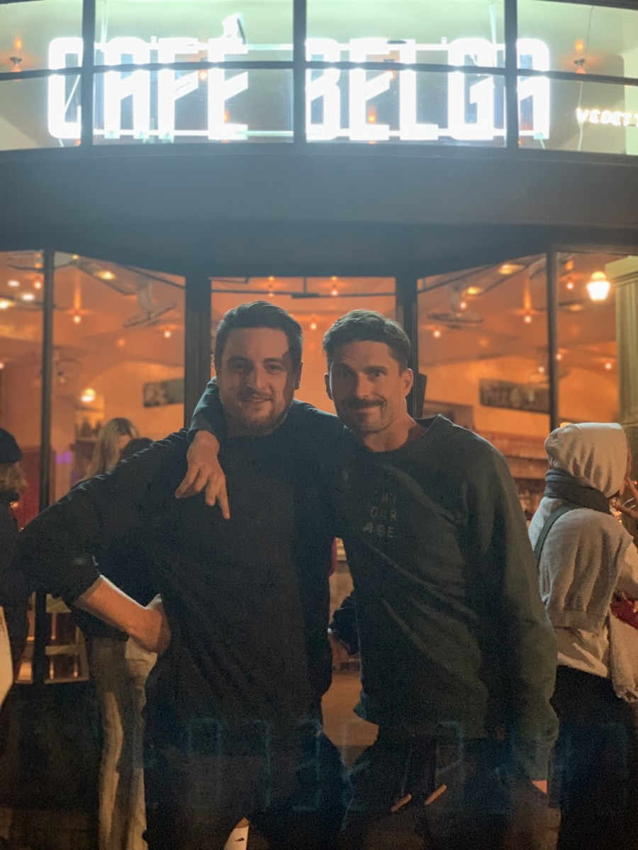 Nico Morano & Arnaud at Café Belga (BXL)