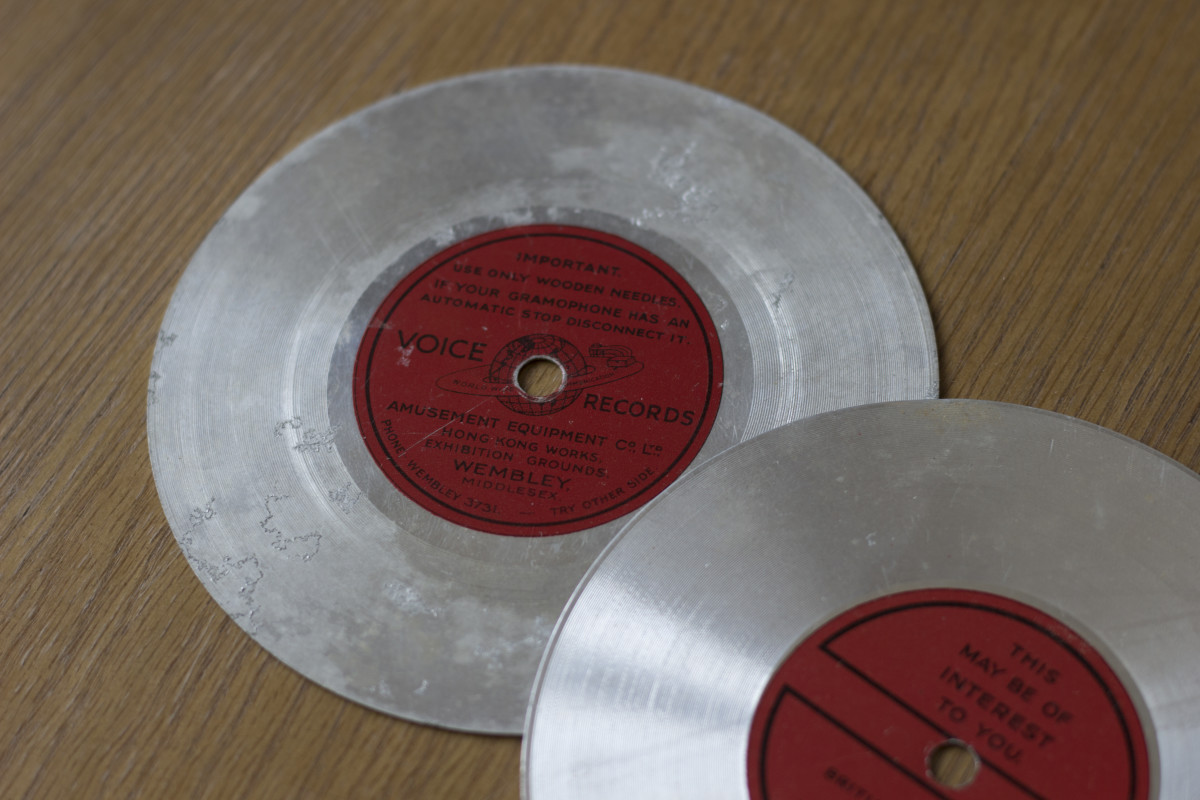 Petrichor Discs Voice Vinyl