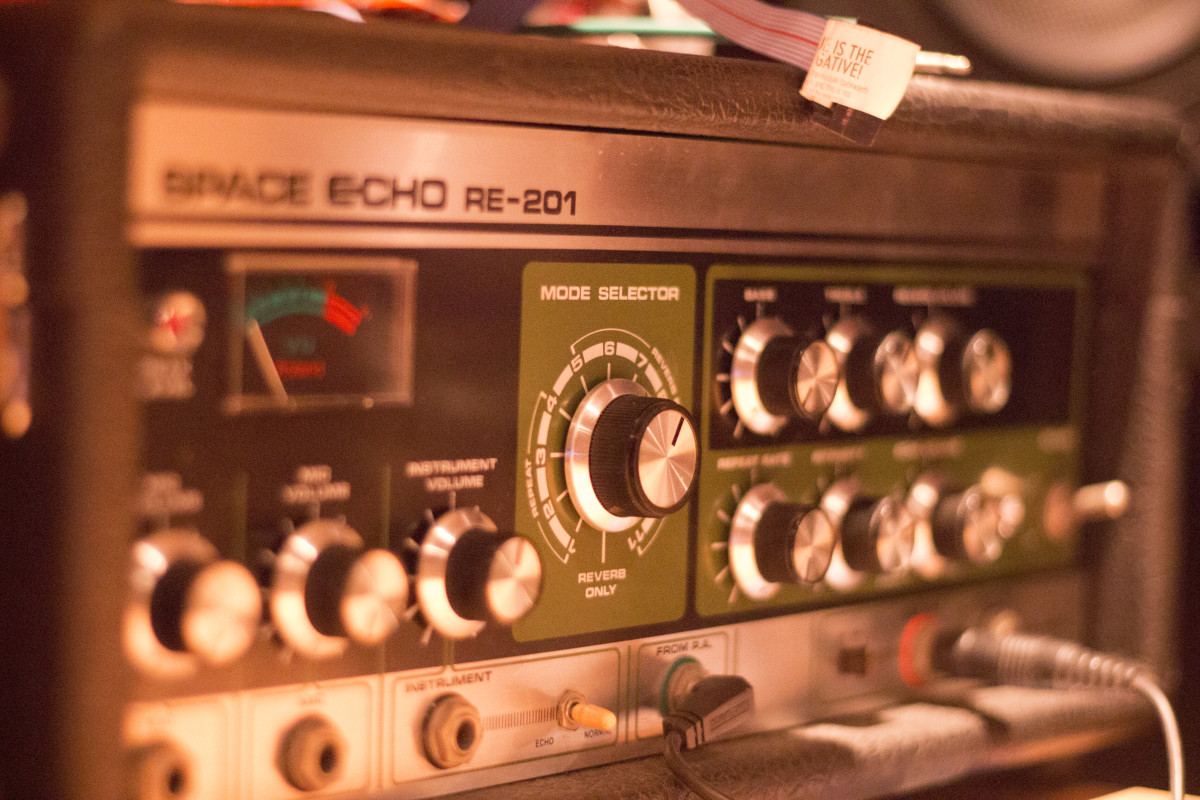 Petrichor Space Echo Knobs Studio