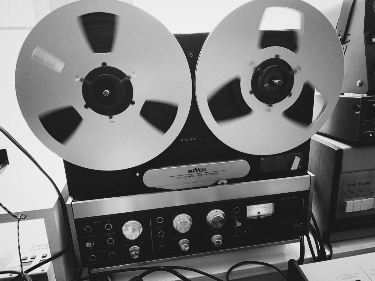 Revox B77 Tape
