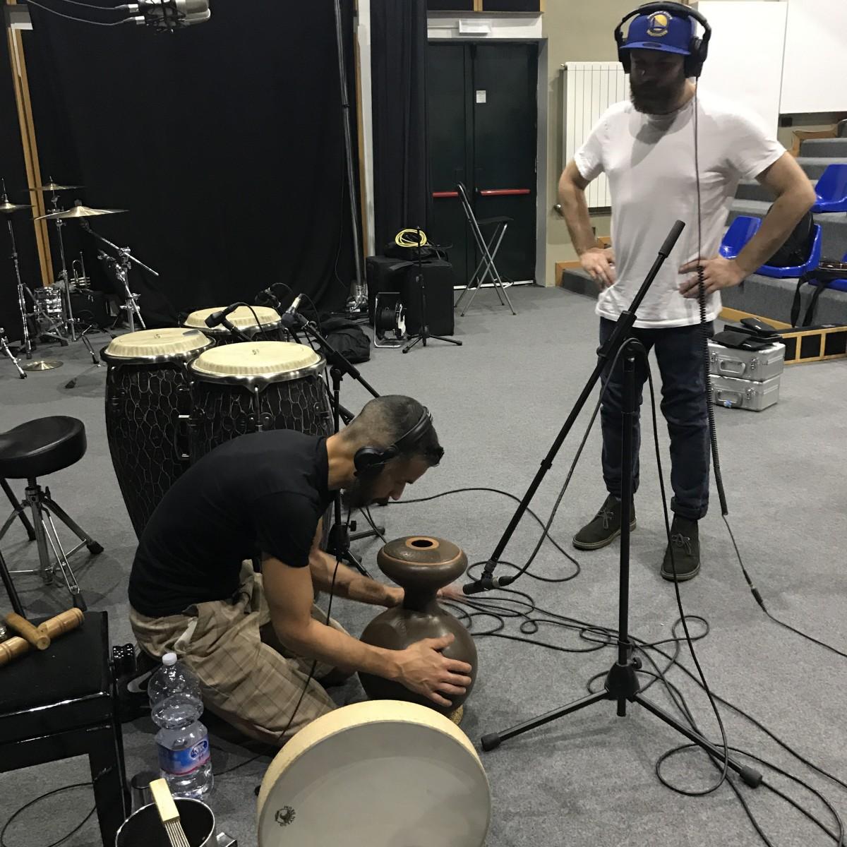 Luca Bacchetti Ciocco Studios Recording Drums