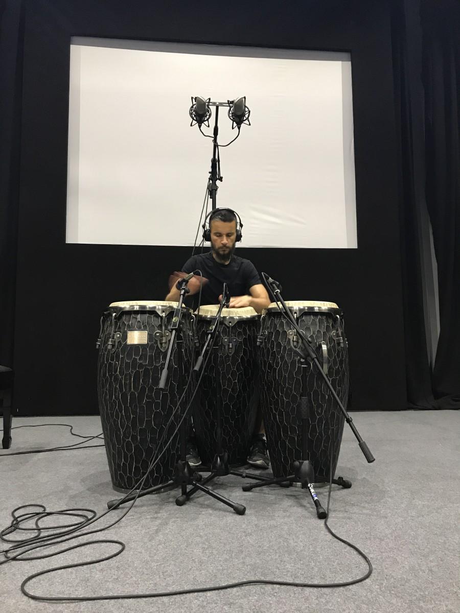 Luca Bacchetti Ciocco Studios Drums