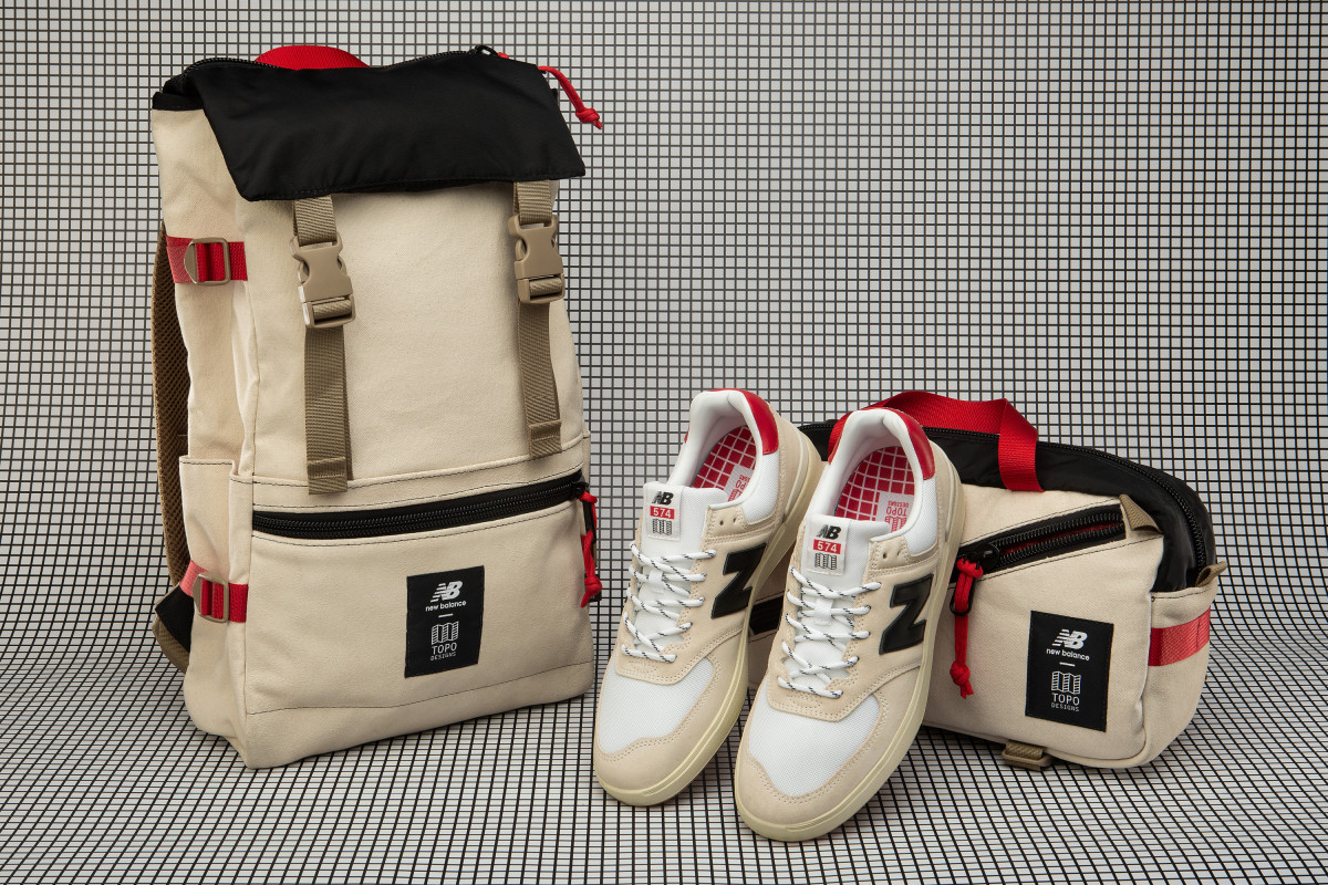 Topo Designs & New Balance Sneakers, Bags