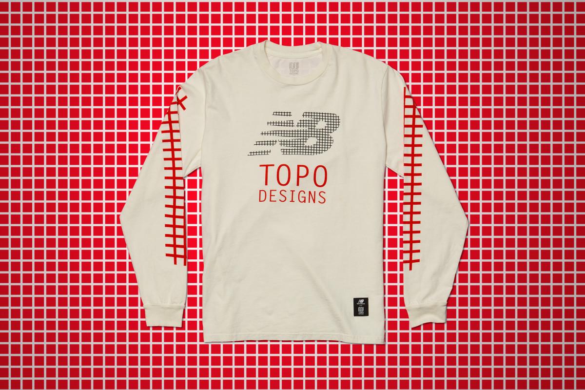 Topo Designs & New Balance Shirt