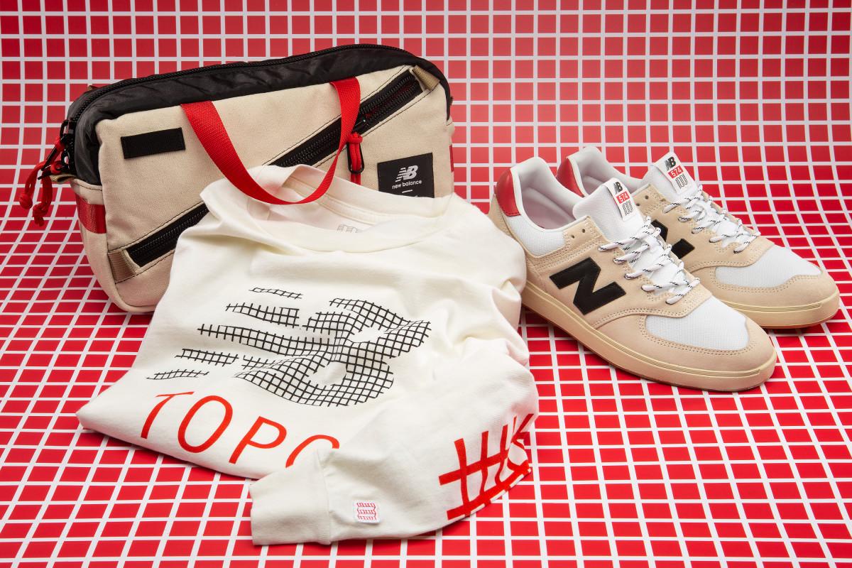 Topo Designs & New Balance Bags, Shirt, Sneakers