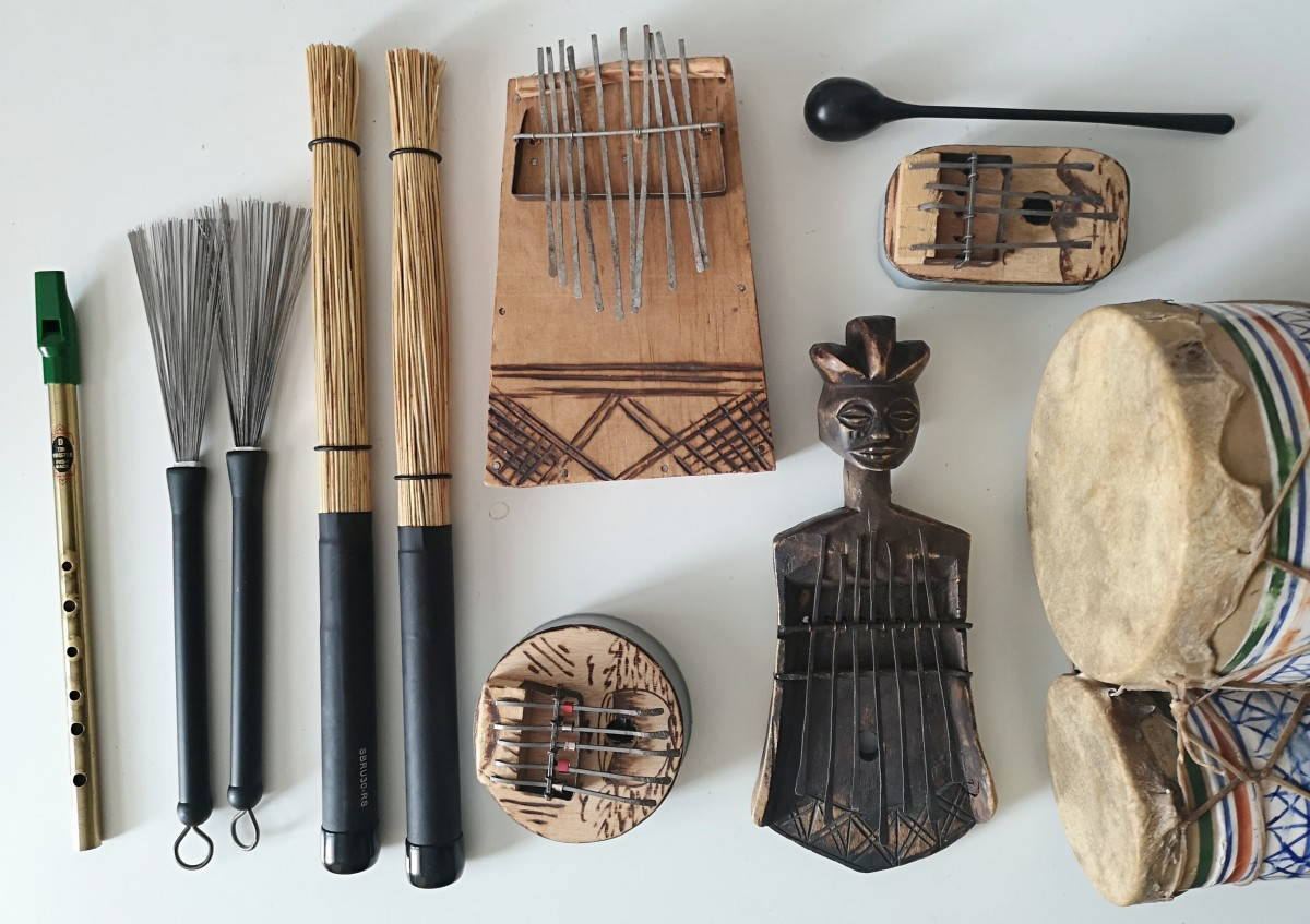 Kimyan Law's instrument collection