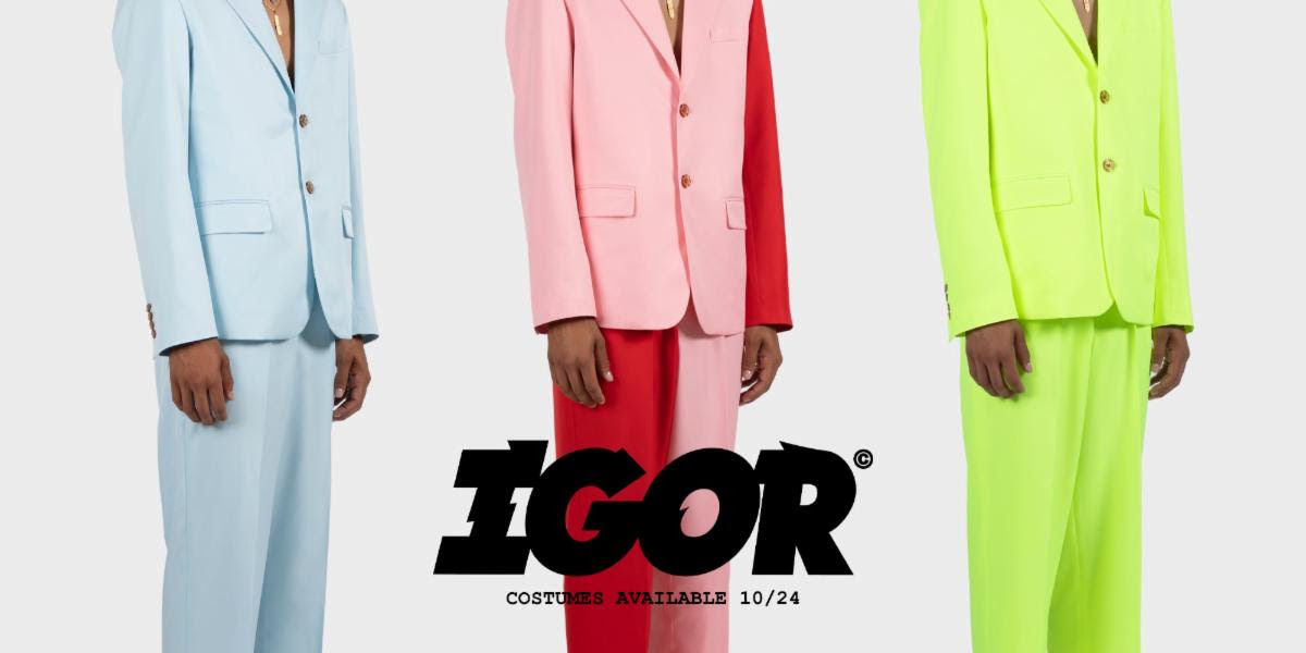 Tyler The Creator IGOR Golf Wang Suits