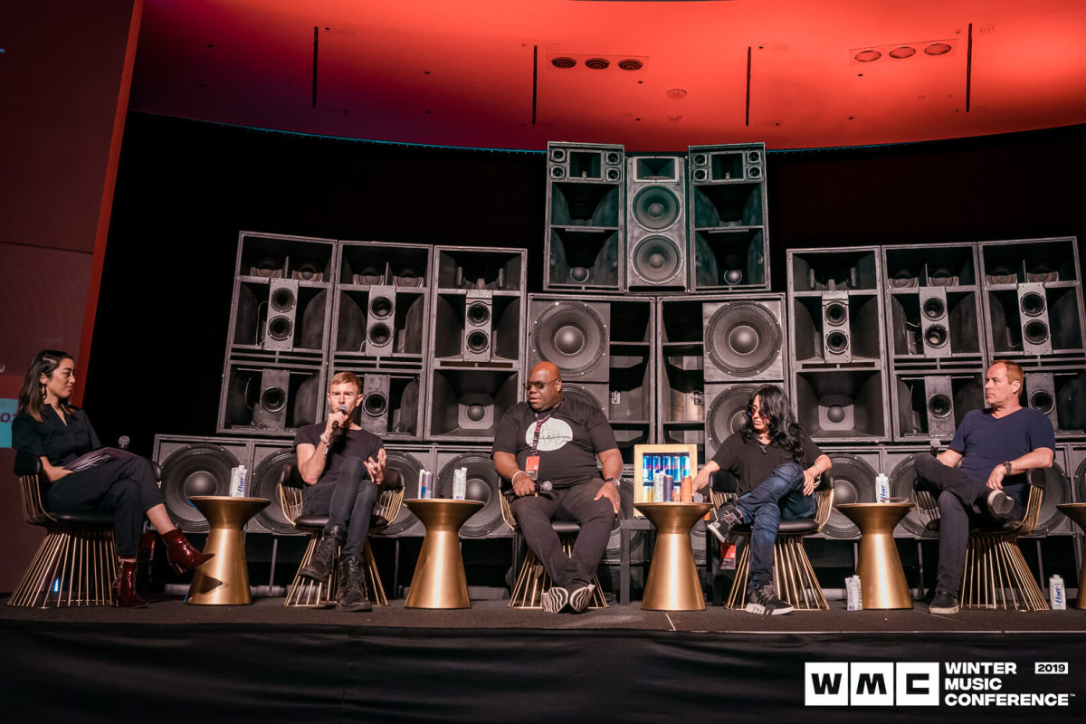 Winter Music Conference 2019 Carl Cox, Nicole Moudaber, Richie Hawin, Christian Smith