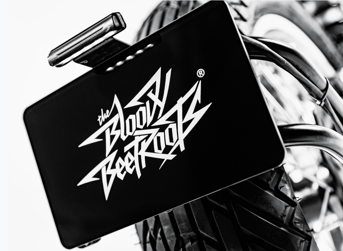 The Bloody Beetroots DAB Motors Motorcycle Back
