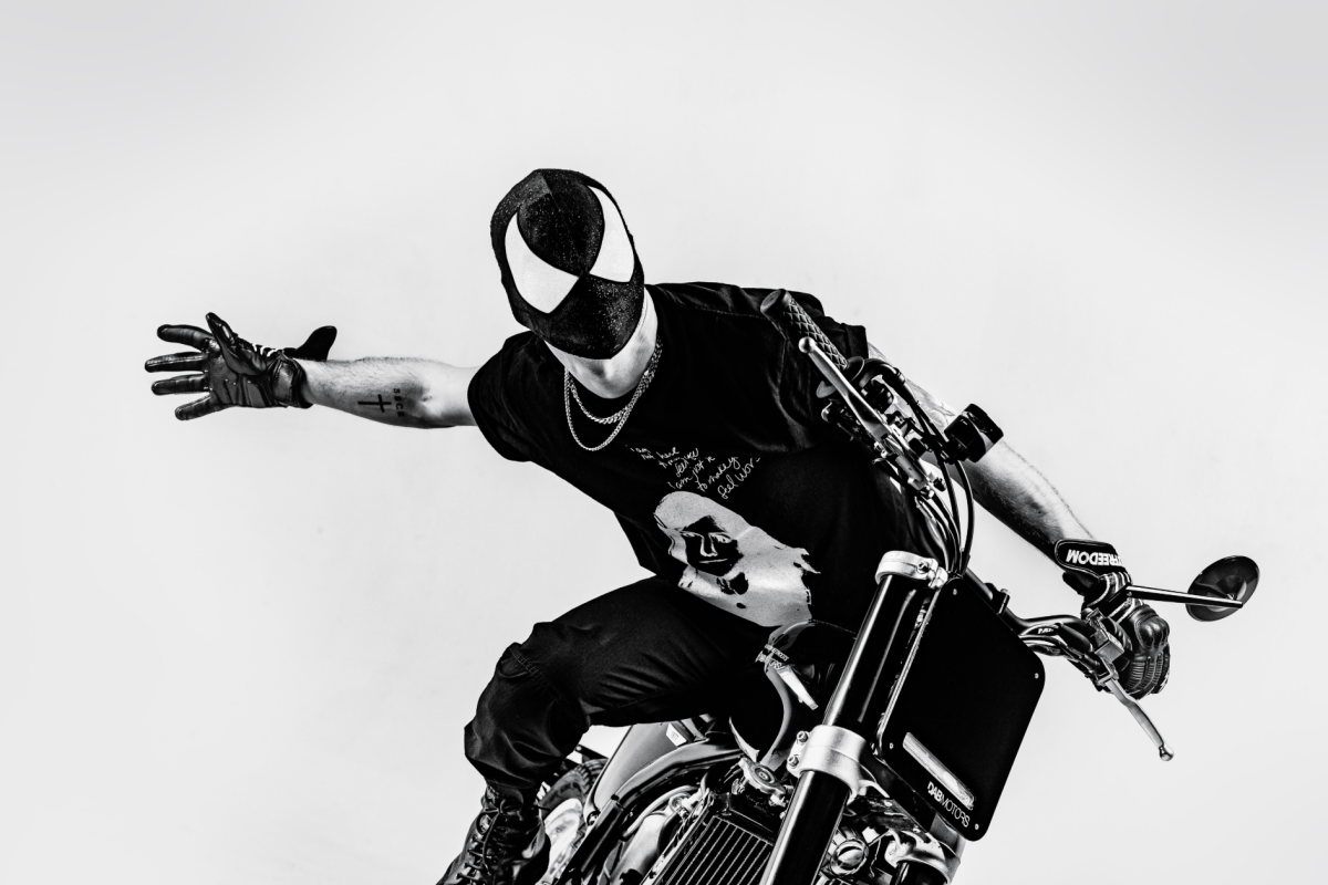 The Bloody Beetroots DAB Motors Motorcycle