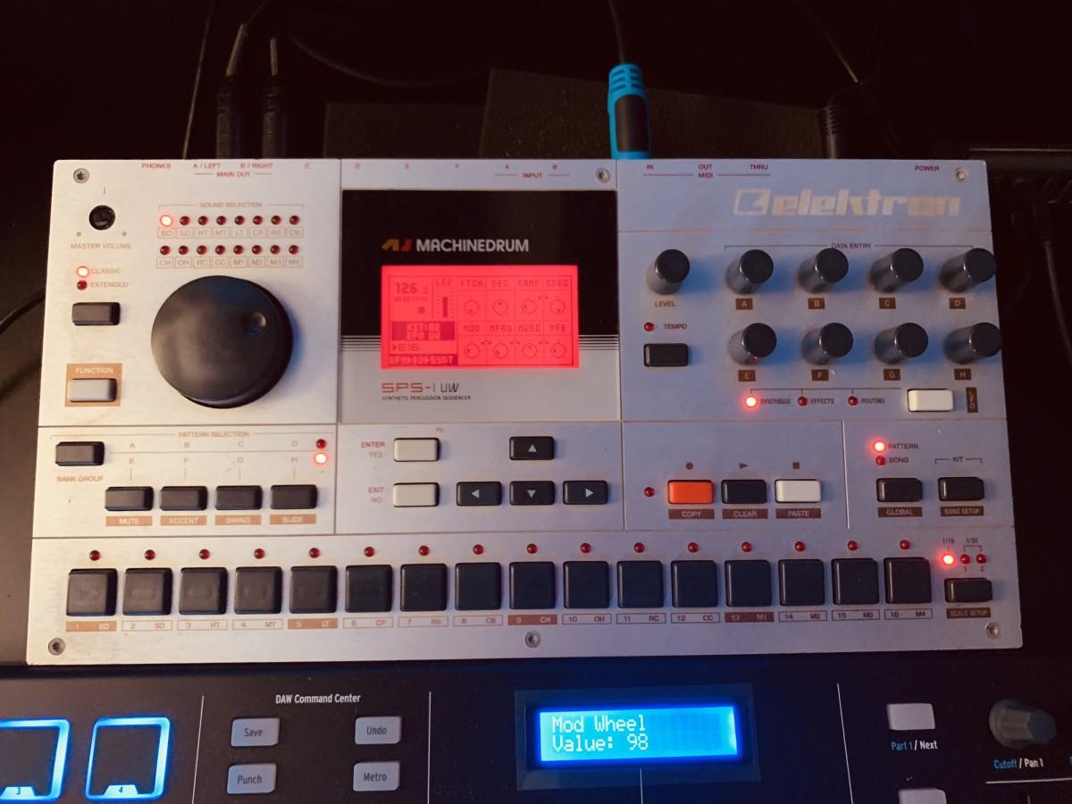 Ron Spiteri Elektron Drum Machine