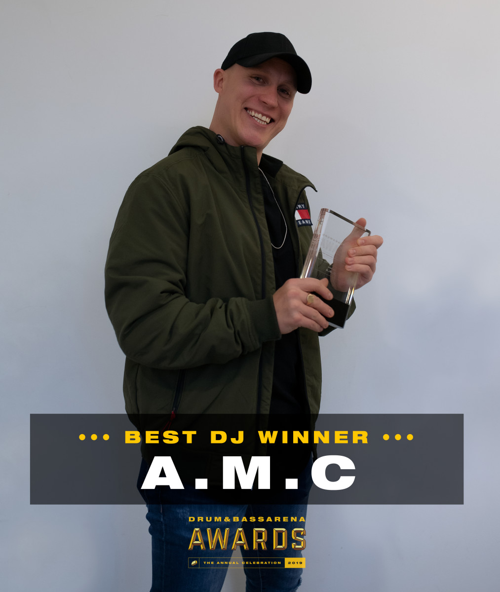 Best DJ Winner A.M.C