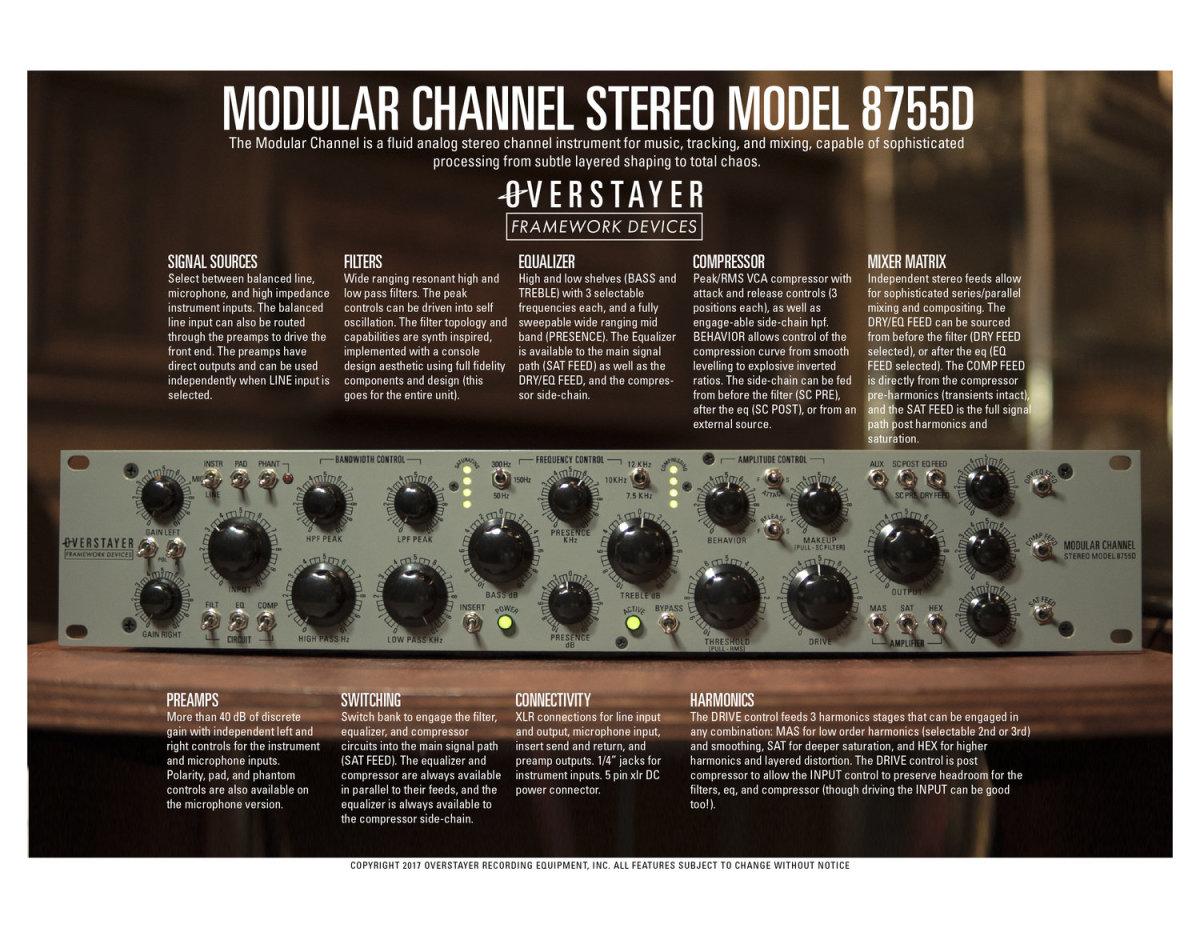 Overstayer Modular Channel