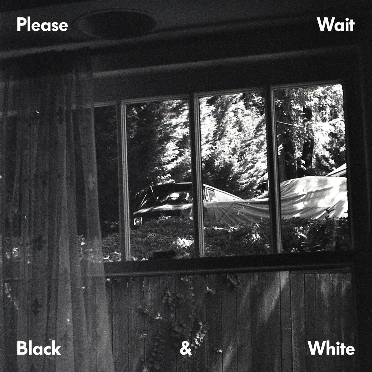 Please Wait Ta-ku matt mcwaters Black & White