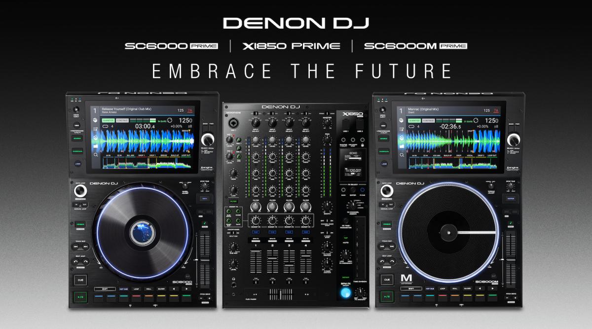 Social - Denon DJ - SC6000, X1850, SC6000M - WEB