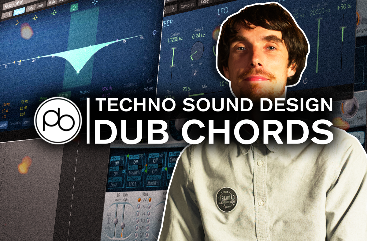 Techno Sound Design: How to Make A Dub Chord With Point Blank