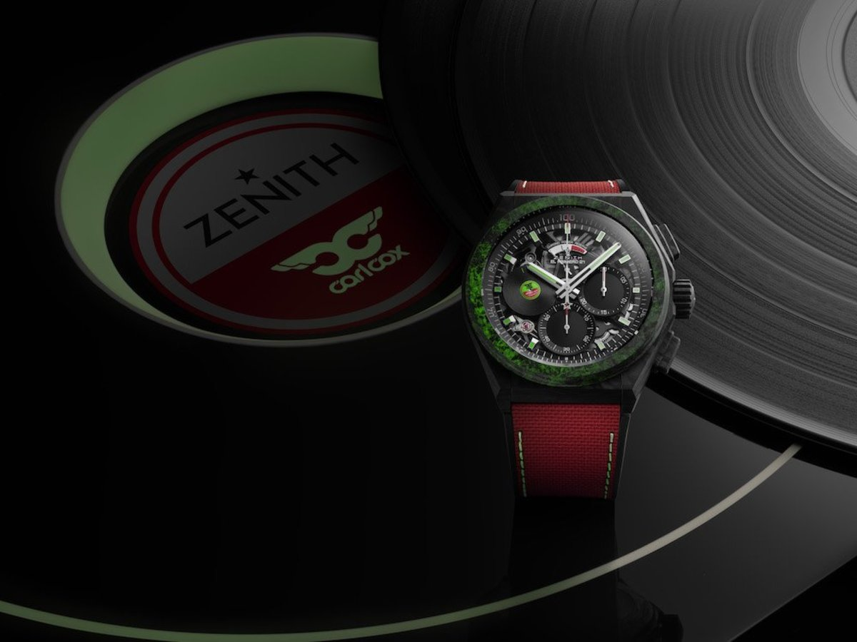 Zenith Carl Cox Watch