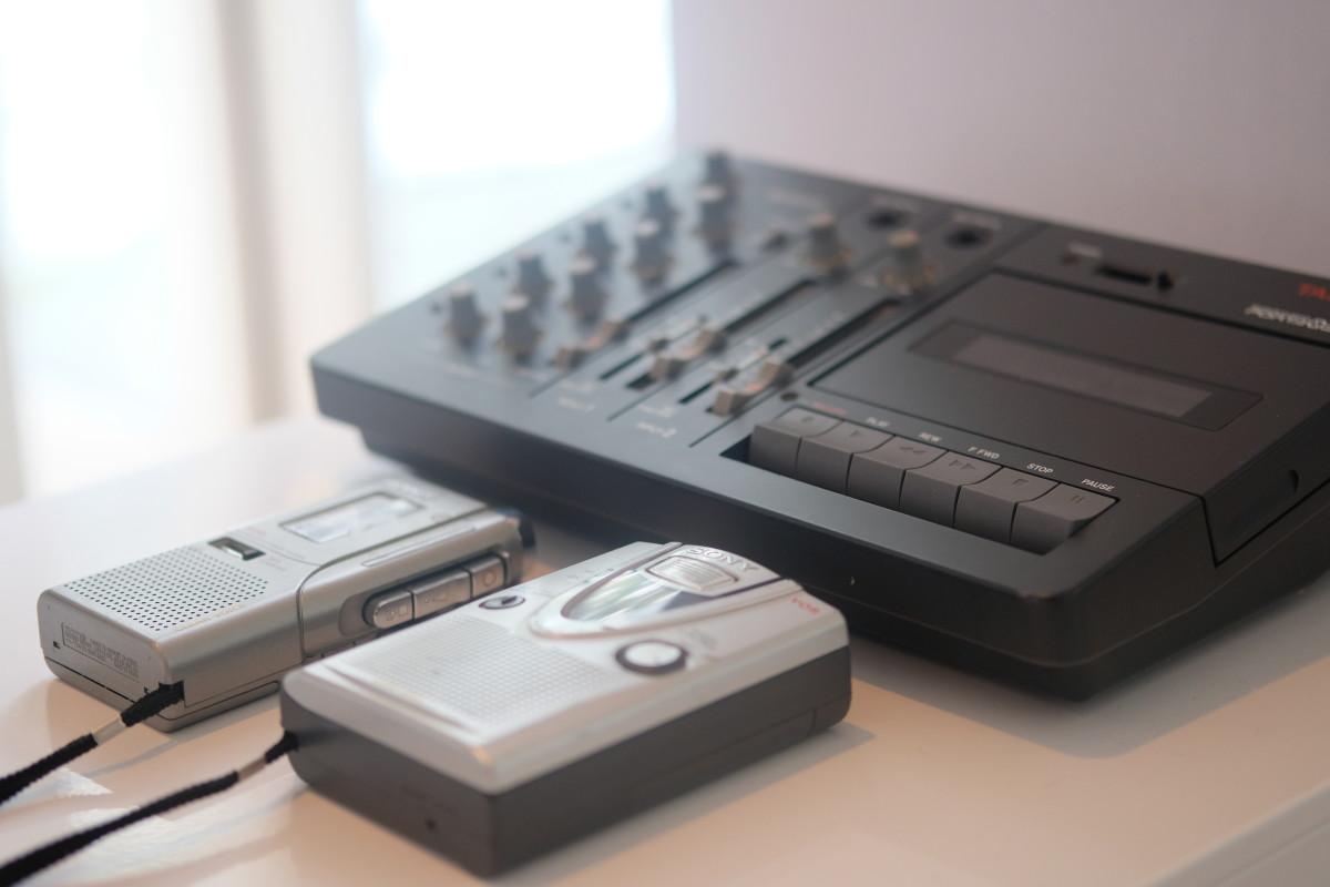 Fostex Sony Tape Recorder