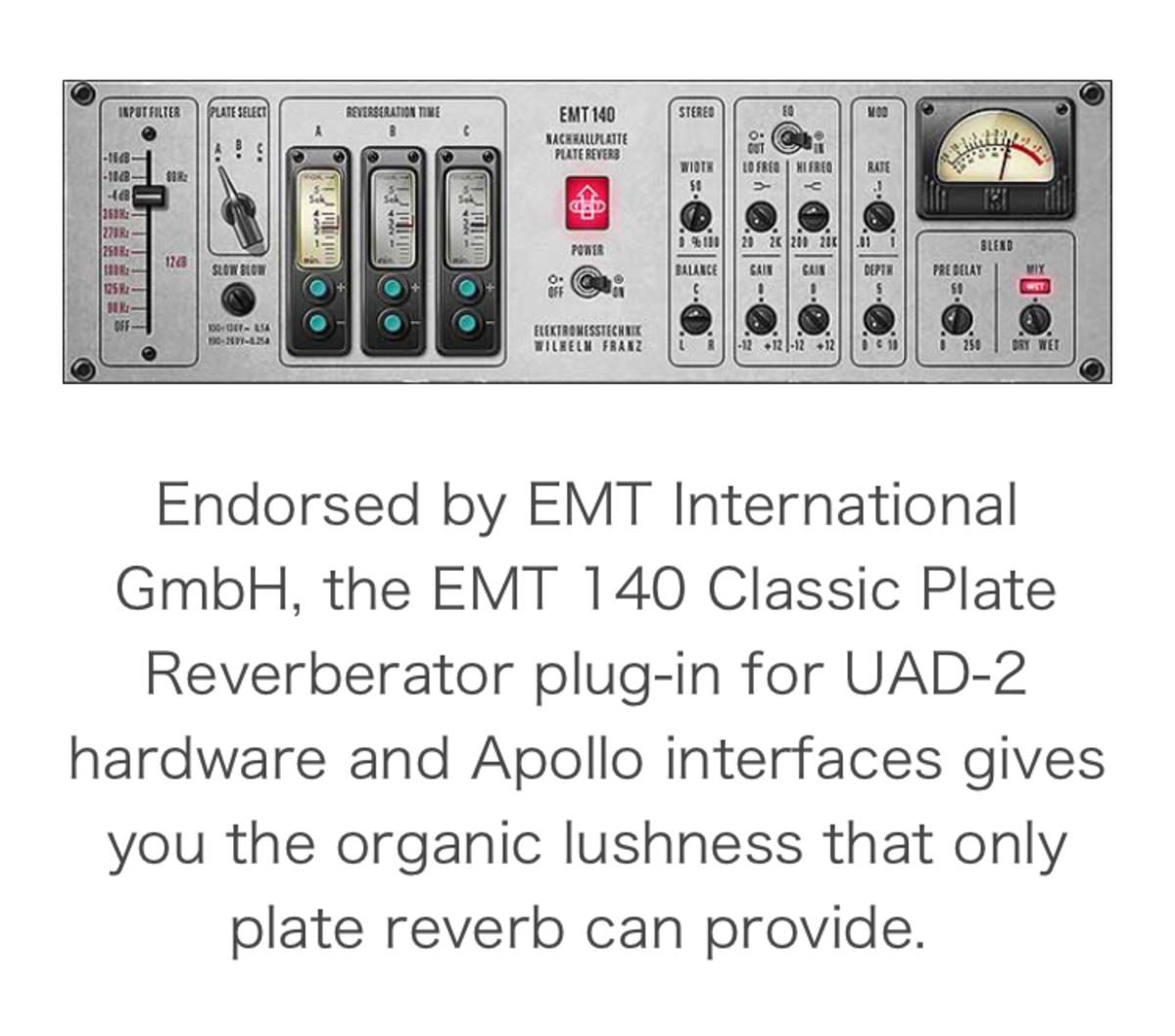 EMT 140 Reverb