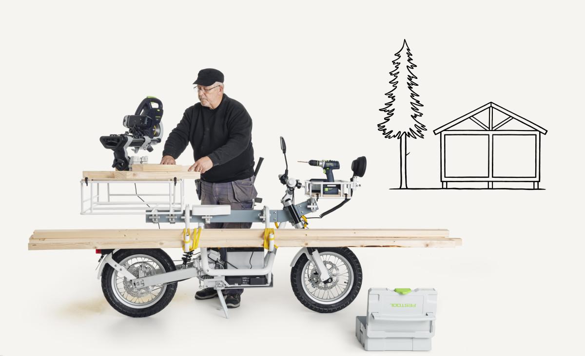 Cake Osa Motorbike Construction
