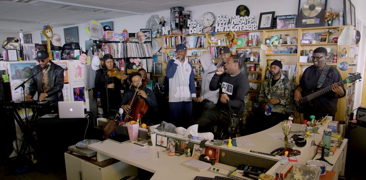 Wu-Tang Clan Tiny Desk Concert