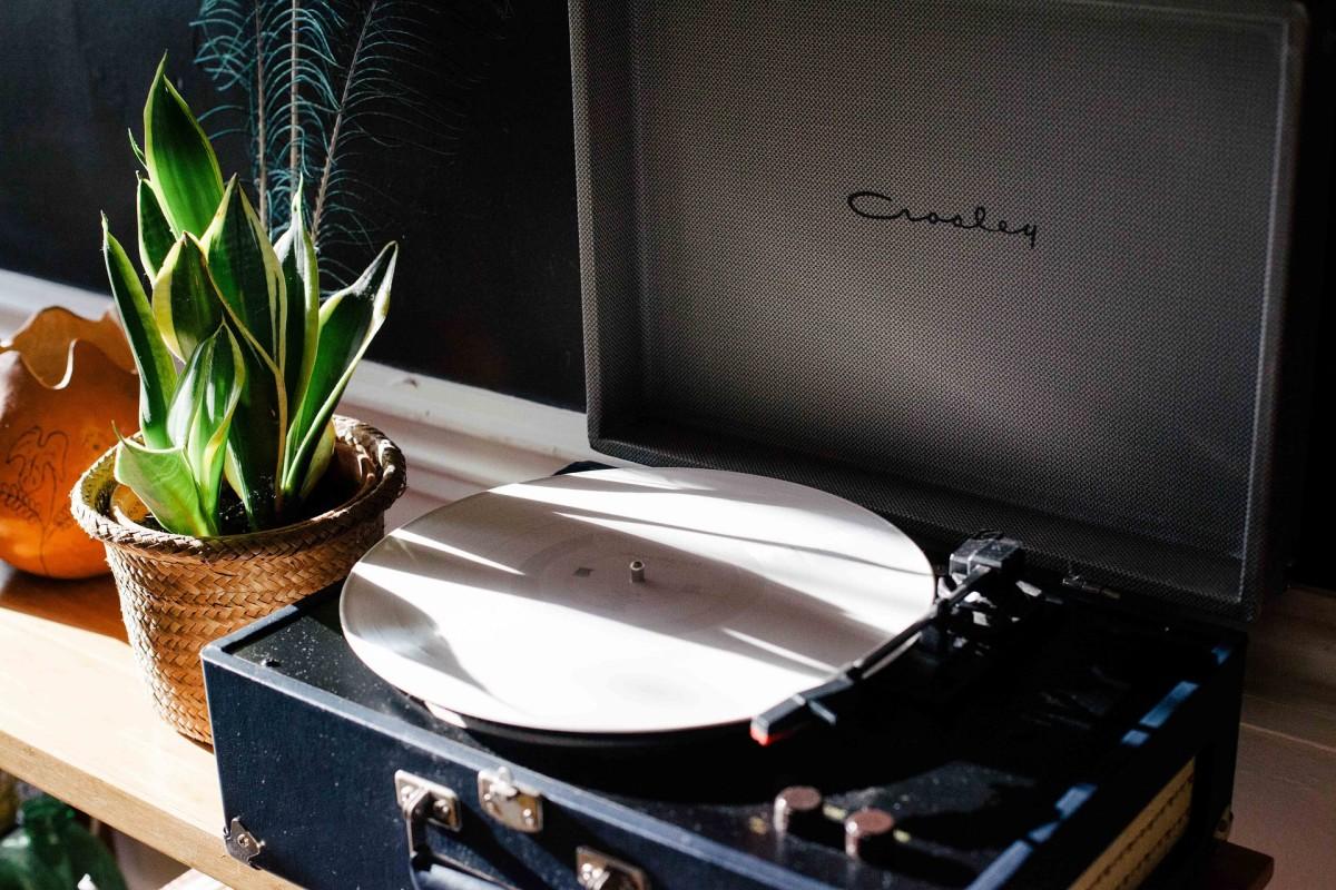 Vinyl Turntable Record Player