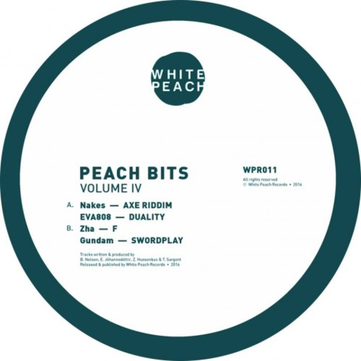 Nakes debut release on White Peach Records.