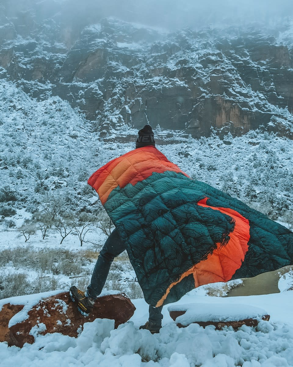 Rumpl Jeremy Collins Blanket