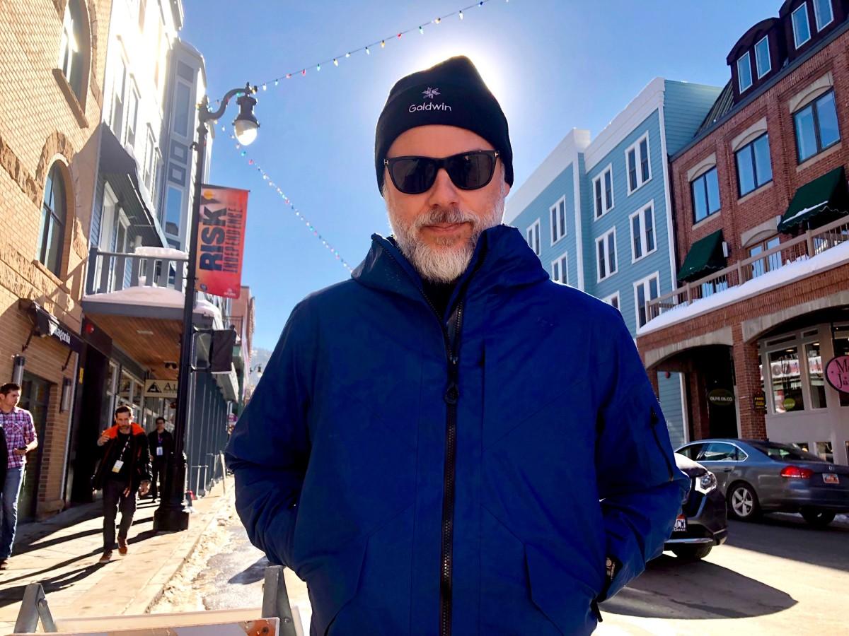Goldwin's jacket hits mains street @ Sundance (Moutain Jacket + Beanie by Goldwin)